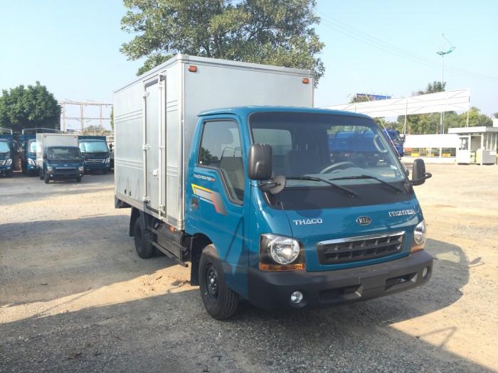 Xe tải KIA 1,25 tấn thùng kín cửa hông, đời 2017 giá tốt nhất Hà Nội