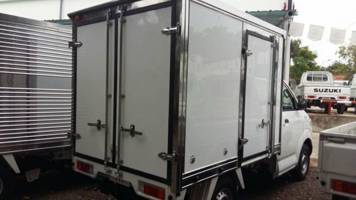 xe tải suzuki thùng kin composite