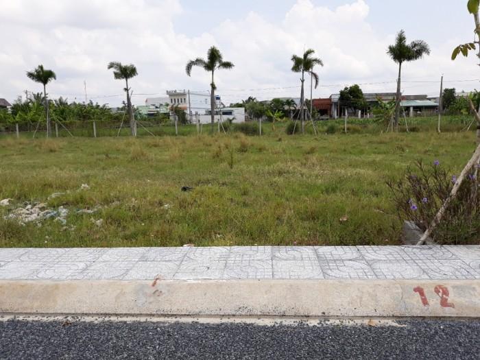 Bán đất thổ cư 100% ngay KCN Bonchen 2, ngay Đinh Đức Thiện, BC, giá bán 450 triệu/ 100m2, SHR