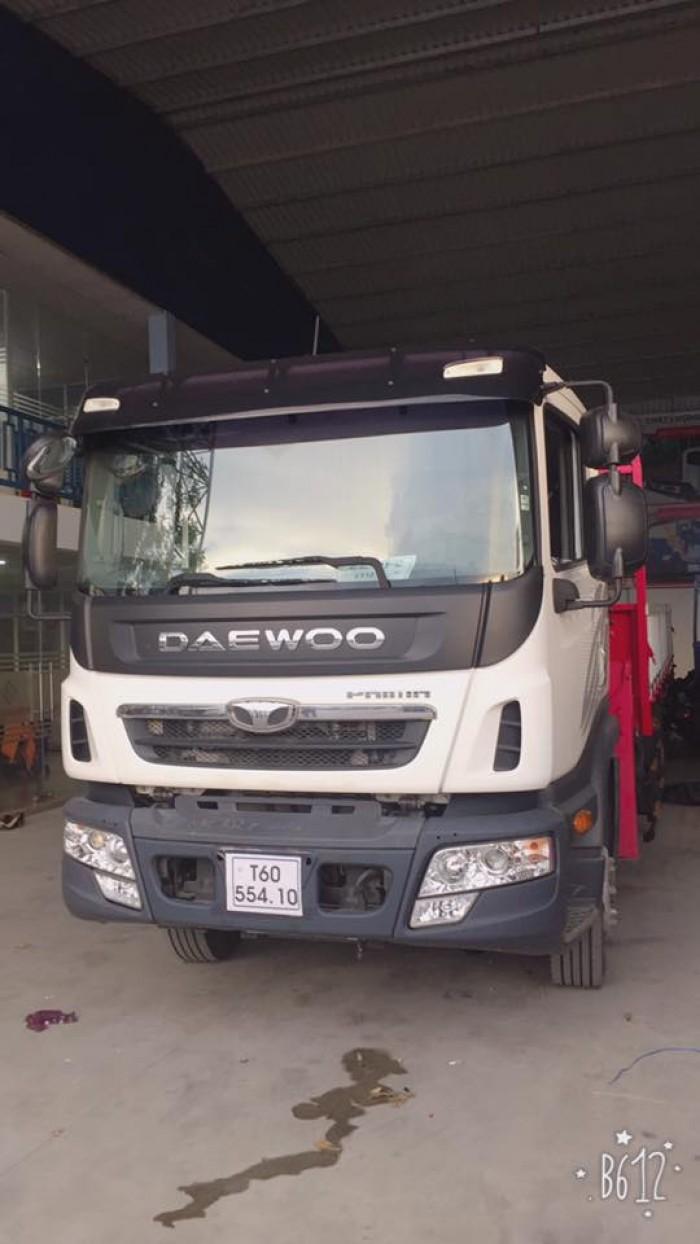 Daewoo Khác sản xuất năm 2017 Số tự động Xe tải động cơ Dầu diesel