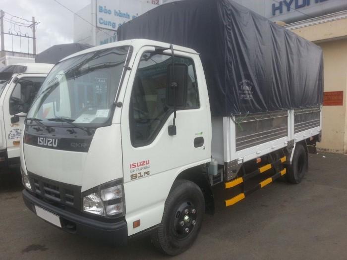 Ô tô tải ISUZU 1,9 tấn/ chở hàng vào thành phố