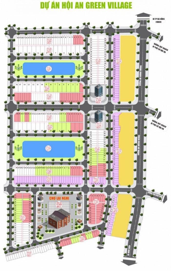 Đất nền chợ mới Lai Nghi - mảnh đất cuối cùng còn xót lại trung tâm Hội An mở rộng