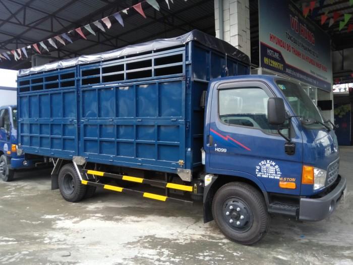 Hyundai HD99 6t5 thùng chở gạch