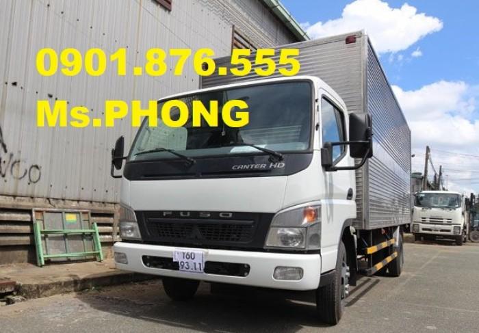 Bán Xe Fuso 4t65/ 4,65t/ 4 tấn 65 trả trước 95%- giao ngay- tặng 20 triệu