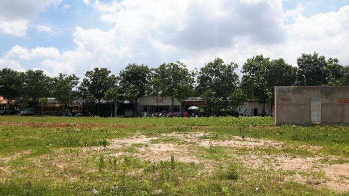 Lô góc ngay khu Biconsi Tân Bình, Dĩ An đối diện bờ hồ, mặt tiền kinh doanh