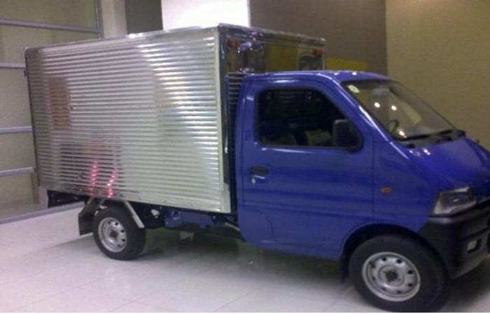 Xe Tải Dongben 870kg thùng kín mới nhất