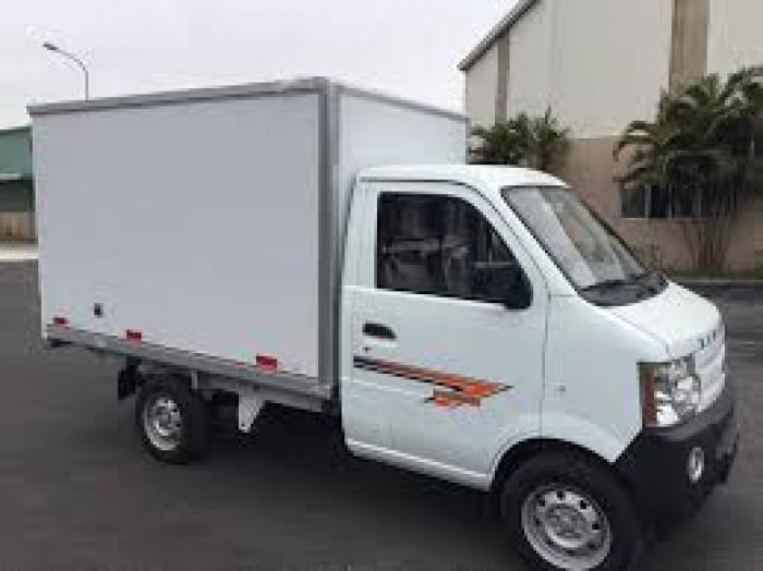 DongBen 870kg Thùng Kín sản xuất năm  Số tay (số sàn) Xe tải động cơ Dầu diesel