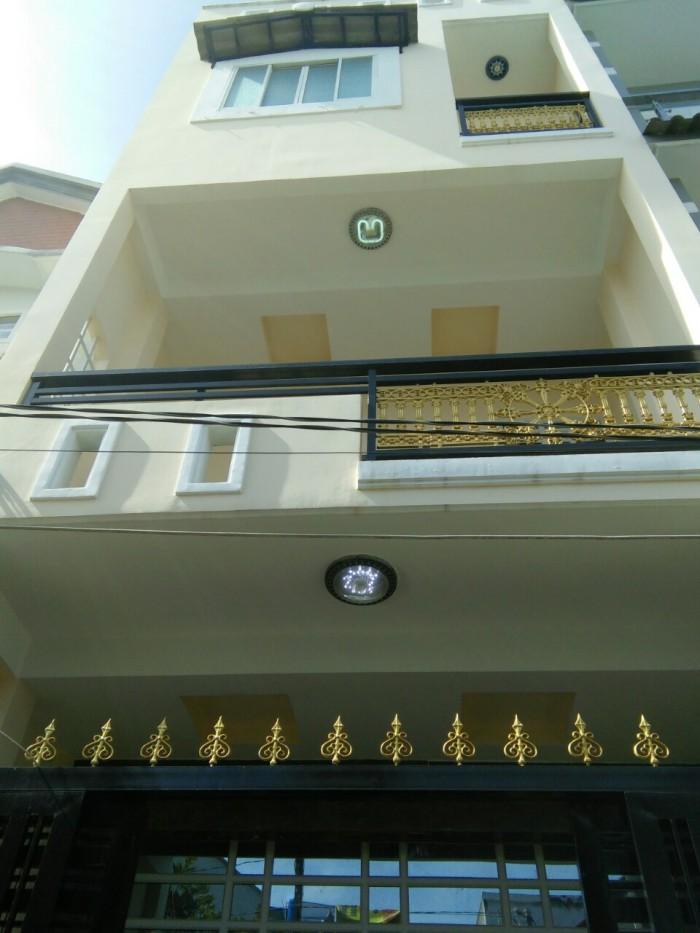 Nhà 1 trệt 2 lầu đúc Huỳnh Tấn Phát, TT Nhà Bè