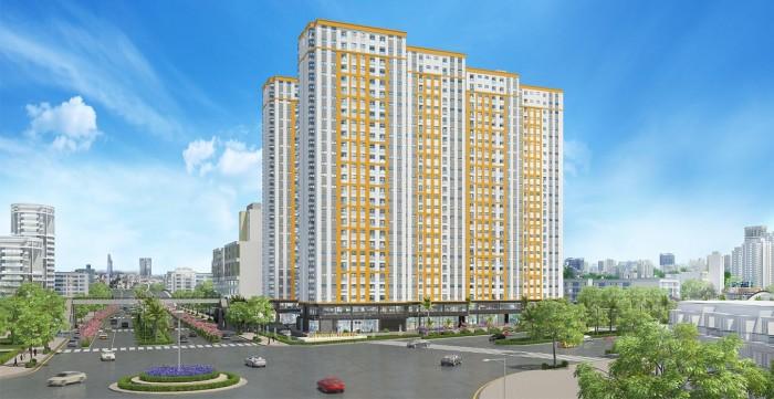 Cần tiền bán gấp căn hộ City Gate - Võ Văn Kiệt, nội thất cơ bản, tầng cao