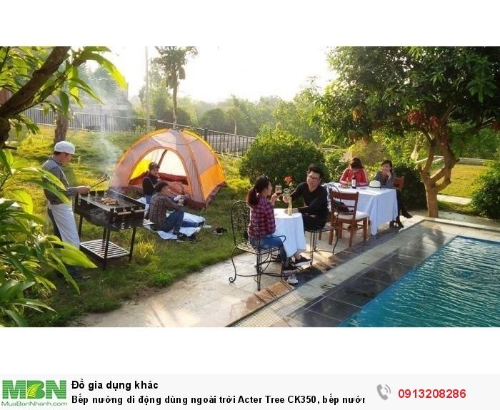 Bếp nướng di động dùng ngoài trời Acter Tree CK350, bếp nướng Việt Nam1