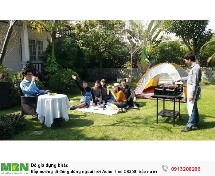 Bếp nướng di động dùng ngoài trời Acter Tree CK350, bếp nướng Việt Nam0