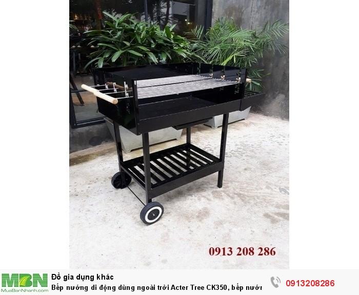 Bếp nướng di động dùng ngoài trời Acter Tree CK350, bếp nướng Việt Nam2
