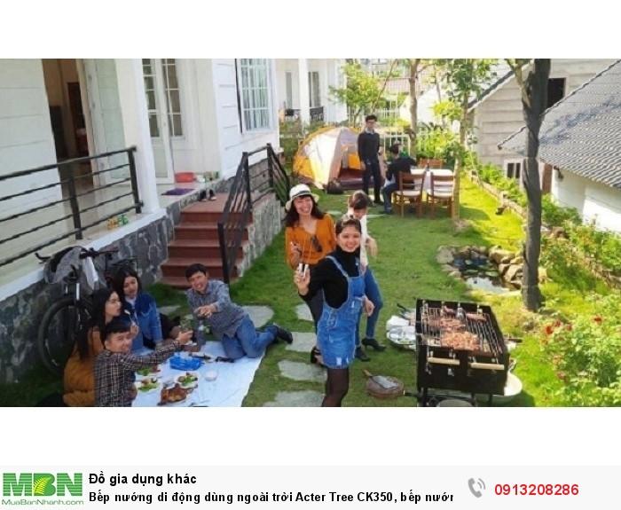 Bếp nướng di động dùng ngoài trời Acter Tree CK350, bếp nướng Việt Nam3