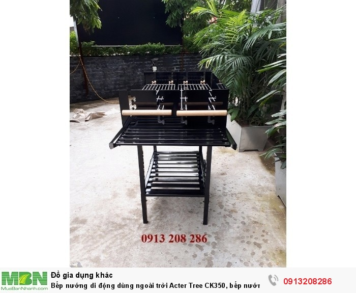 Bếp nướng di động dùng ngoài trời Acter Tree CK350, bếp nướng Việt Nam6