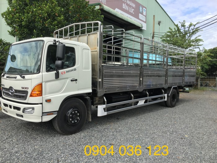 xe tải hino 8t thùng 10m, xe tải hino 8t thùng mui bạt 10m,xe tải hino giá tốt