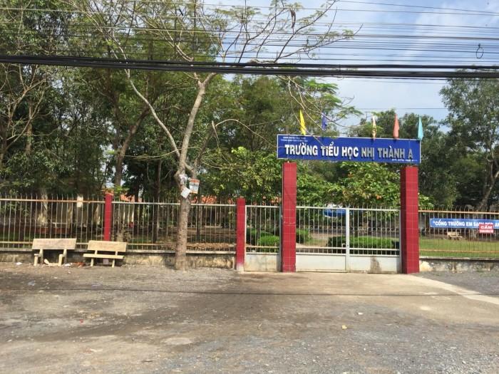 Bán đất khu dân cư thị trấn Thủ Thừa, Long An, DT 5x25
