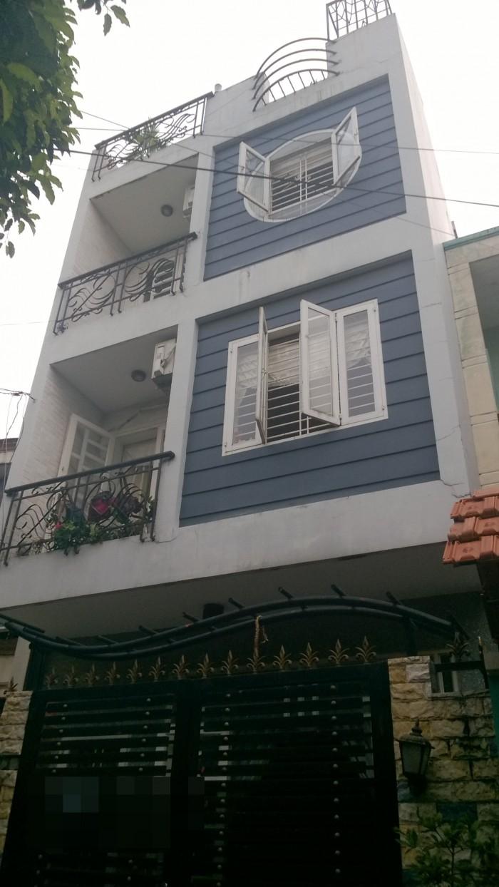 Hẻm 5m Lũy Bán Bích, P.Tân Thành Nhà 2 Lầu DT4x18m