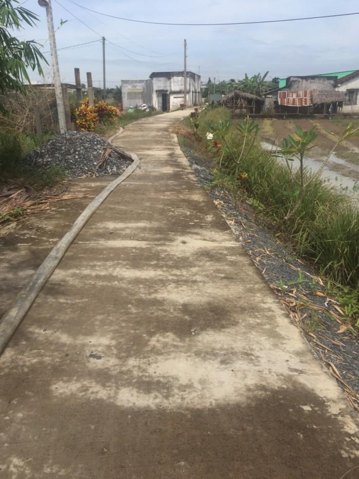 Cần bán lại 124 m2 đất xã Đa Phước, Bình Chánh