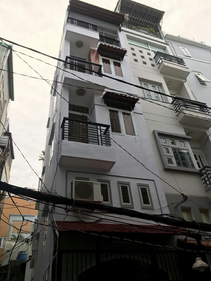 Bán nhà hẻm 4m Lê Văn Sỹ, DT 3* 8m, nhà 4 lầu đẹp, giá 2.75 tỷ