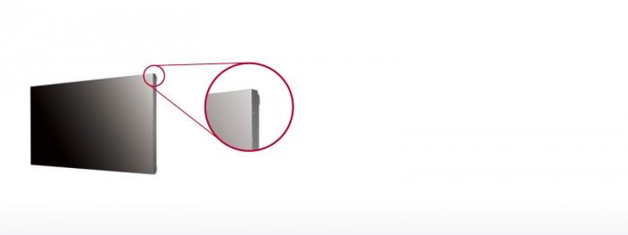 Thiết kế bo viền siêu mỏng chỉ 0.9mm và viền chỉ dày 1.8mm đem lại trải nghiệm xem sống động, chân thật và liên mạch nhất.9