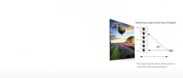 Màn hình ghép VM5C đảm bảo chất lượng hình ảnh rõ ràng ngay cả khi đã lắp đặt  hơn 4 tấm màn hình lại với nhau. Điều này rất thích hợp cho việc lắp đặt số lượng nhiều màn hình ghép trong không gian lớn.1