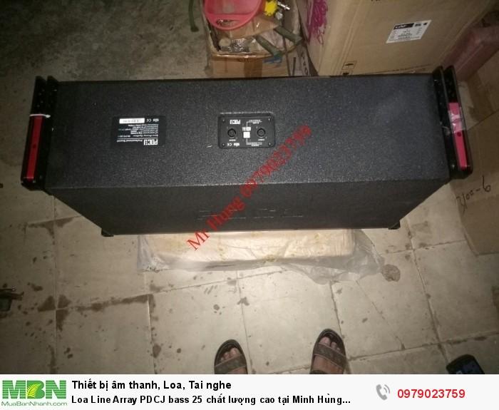 Loa Line Array PDCJ bass 25 chất lượng cao tại Minh Hùng audio