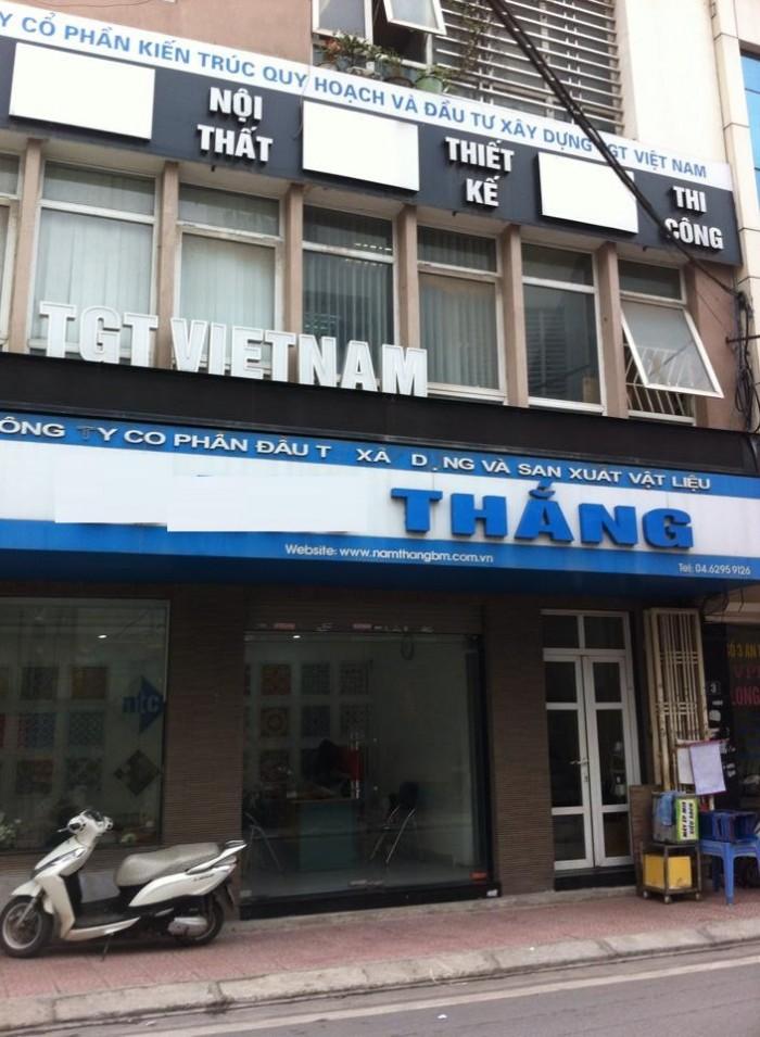 [CHO THUÊ]: Mặt phố Nguyễn Biểu, 72m2 x 3T, MT 7m, hợp VP, Showroom, shop