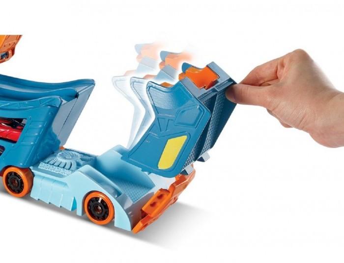 Bộ đồ chơi Hot Wheels Stun & Go 15 xe và ván trượt.2