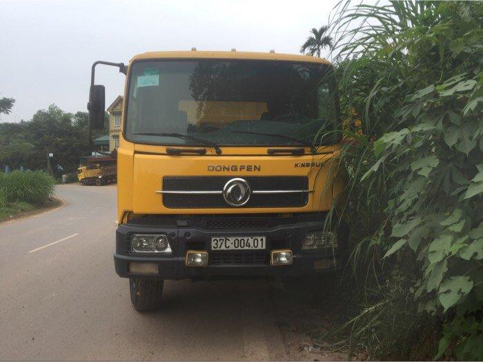 Cần bán xe ô tô tải ben 8 tấn nhập khẩu Dongfeng Hoàng Huy sx năm 2010 3