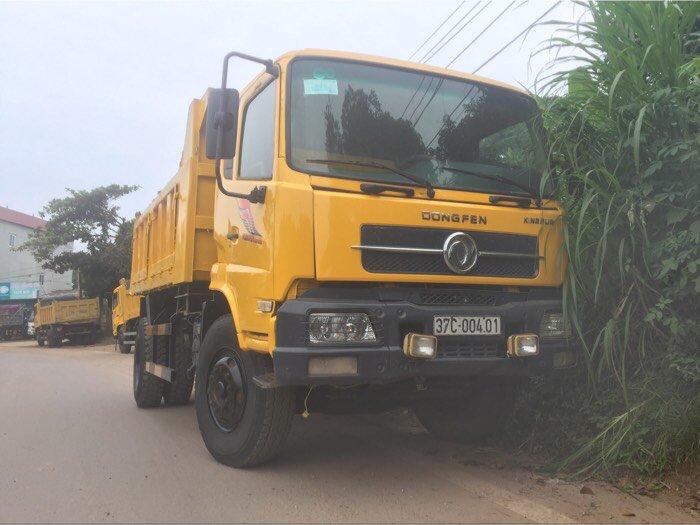 Cần bán xe ô tô tải ben 8 tấn nhập khẩu Dongfeng Hoàng Huy sx năm 2010 4
