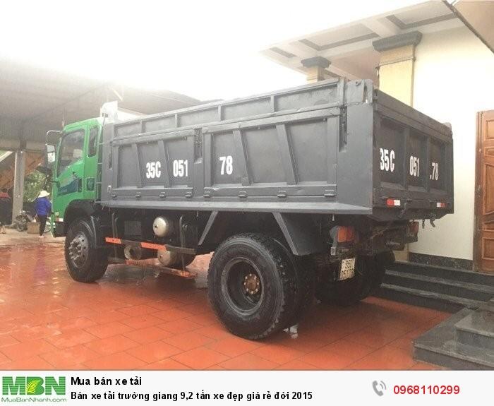 Bán xe tải trường giang 9,2 tấn xe đẹp giá rẻ đời 2015 1