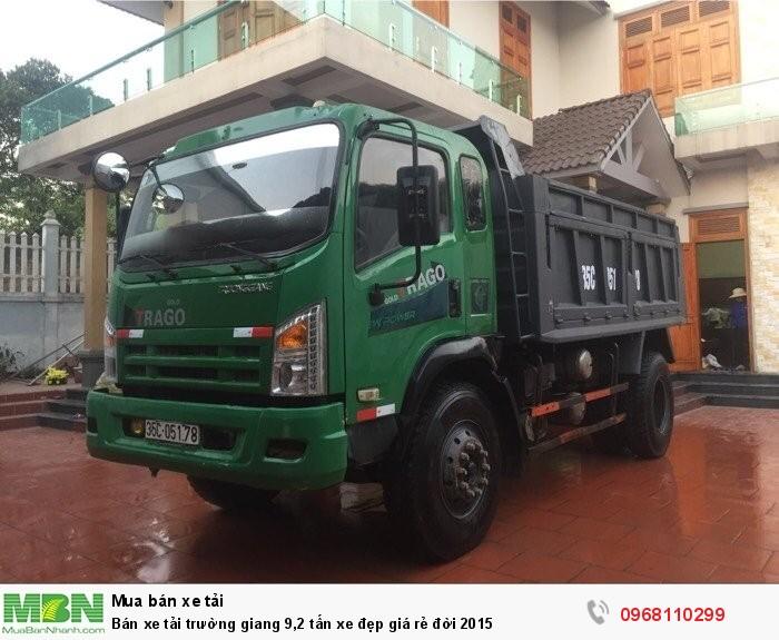 Bán xe tải trường giang 9,2 tấn xe đẹp giá rẻ đời 2015 2