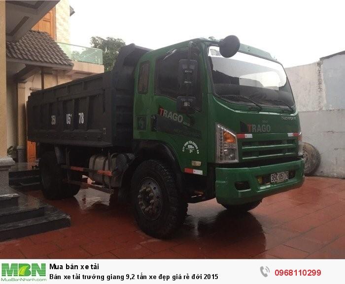 Bán xe tải trường giang 9,2 tấn xe đẹp giá rẻ đời 2015 3