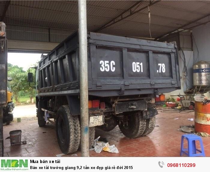 Bán xe tải trường giang 9,2 tấn xe đẹp giá rẻ đời 2015 4