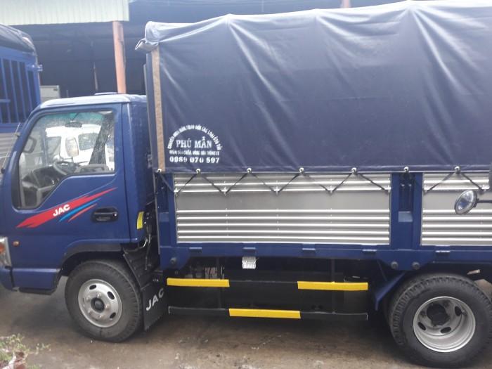 Xe tải jac 2tấn4 thùng dài 3mét7 công nghệ isuzu