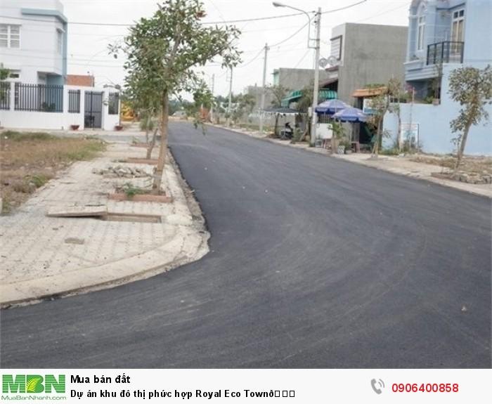 Dự án khu đô thị phức hợp Royal Eco Town