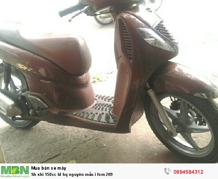 Sh shi 150cc ld hq nguyên mẫu i fom 209 4