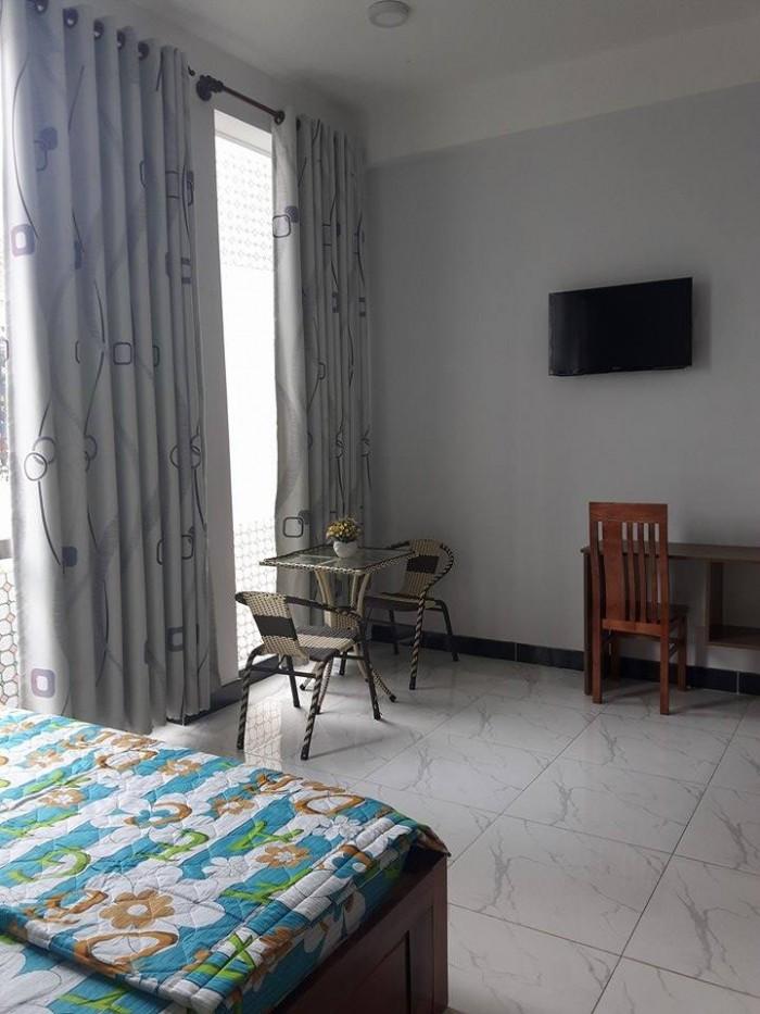 Cho thuê căn hộ quận 1, full nội thất, 1PN, 1WC, 1 bếp, không chung chủ, Nguyễn Cư Trinh