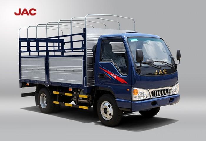 Xe tải jac 2t4 máy isuzu hổ trợ vay cao