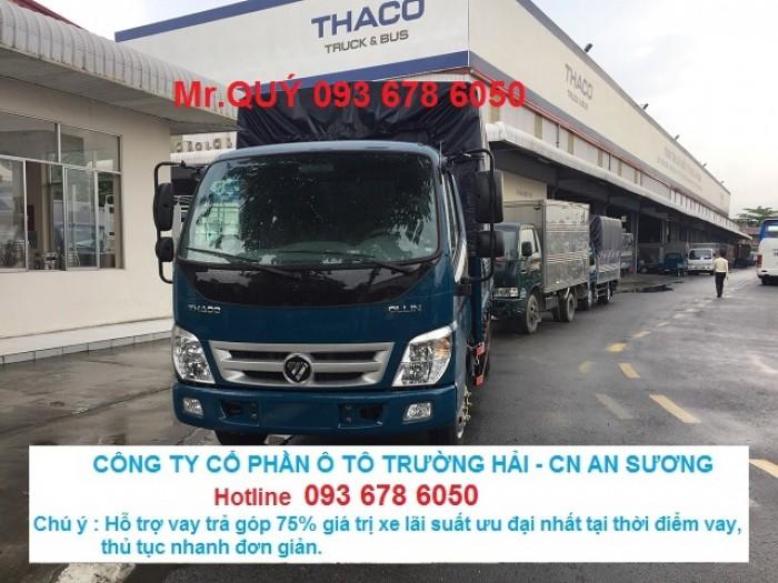 Xe tải Ollin 500B tải trọng 5 tấn mới.