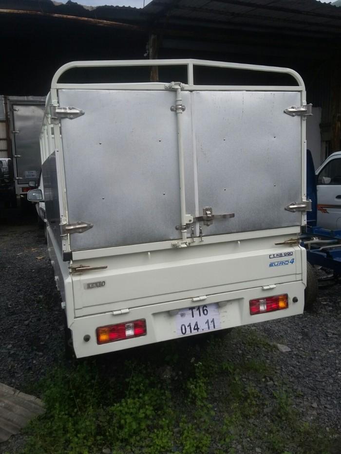 Xe tải động cơ xăng phun điện tử, tải trọng 1t