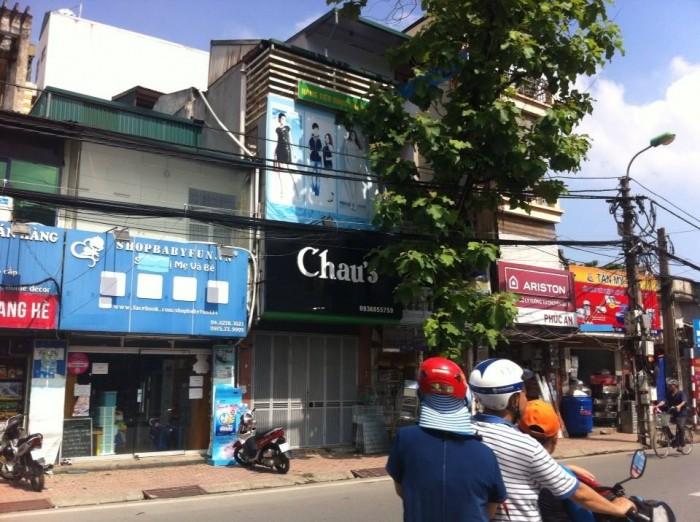 Mặt phố Nguyễn Ngọc Vũ, 145m2, hợp hàng ăn, gara