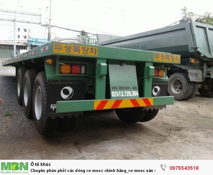 Chuyên phân phối các dòng rơ mooc chính hãng_rơ mooc sàn 40 feet {chở container}