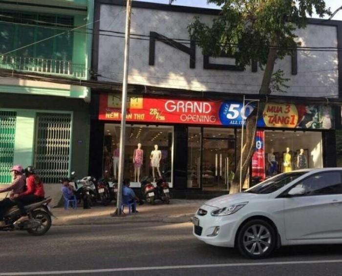 bán nhà mặt tiền đường Nguyễn Trãi, ngang trên 6m, đang cho thuê giá cao