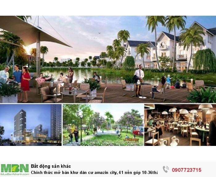 Chính thức mở bán khư dân cư amazin city, 41 nền góp 10-36tháng 0% lx Trần Đại Nghĩa