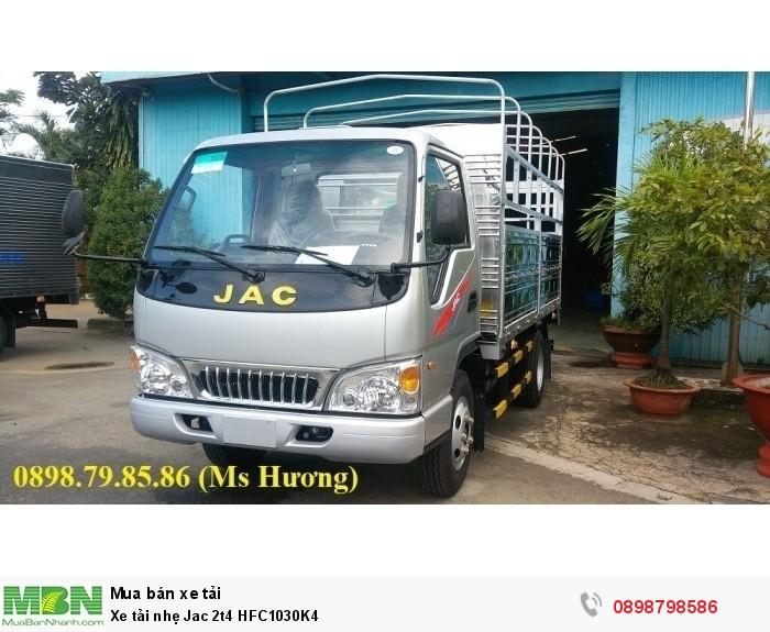 Xe tải nhẹ Jac 2t4 HFC1030K4