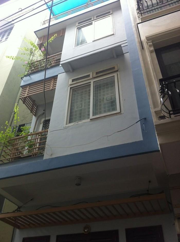 Bán nhà phân lô ô tô đỗ cửa phố Nguyên Hồng, 50m2 x 4T