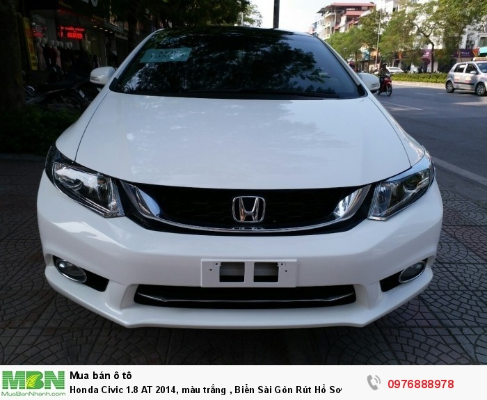 Honda Civic sản xuất năm 2014 Số tự động Động cơ Xăng