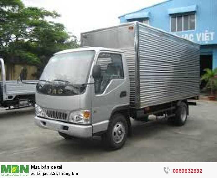 xe tải jac_3.5t, thùng kín_ cho vay trả góp