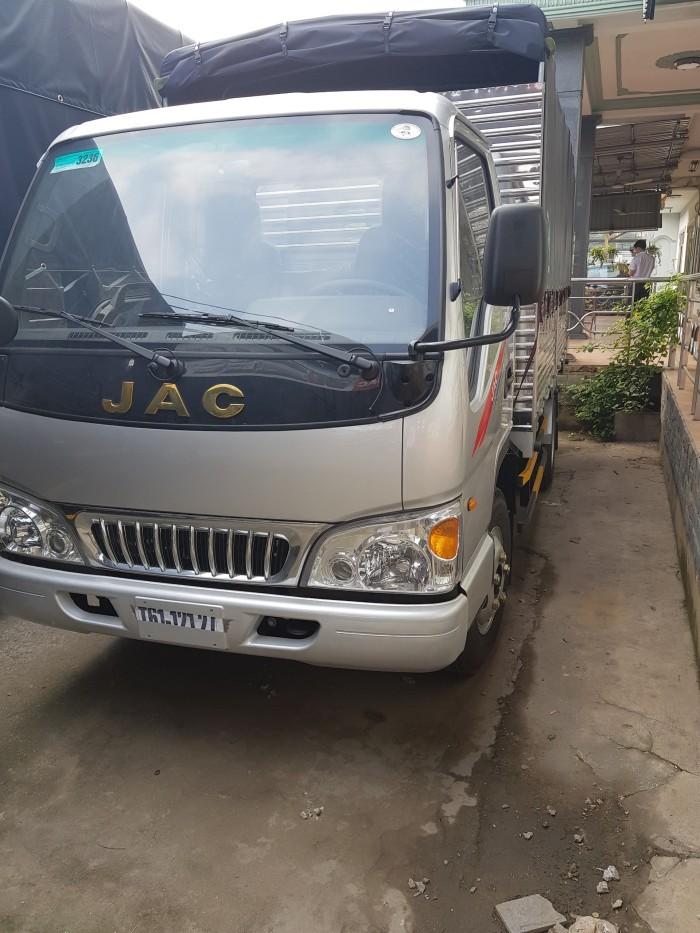 Đại lý bán xe tải Jac 2t4, trả góp 100% xe
